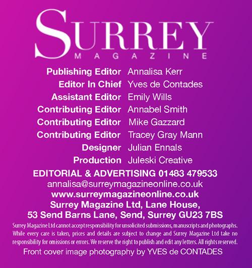 Surrey Magazine 2017 Credits
