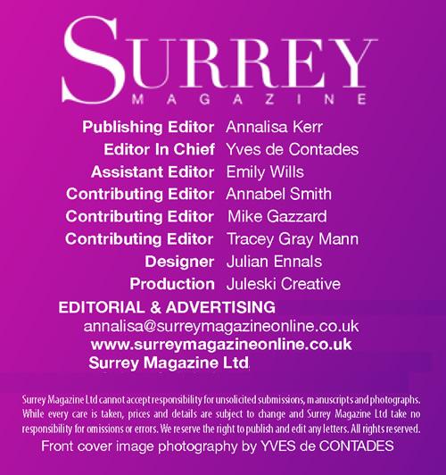 Surrey Magazine 2018 Credits