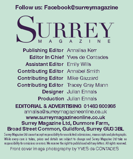 Surrey Magazine Contact details